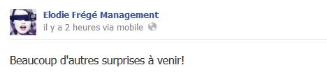 Messages d'Elodie Frégé Management sur Facebook - Page 23 610