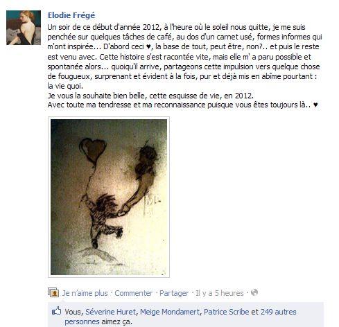 Messages d'Elodie Frégé sur Facebook (de Août 2013 à Avril 2014) 68584510