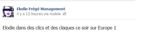 Messages d'Elodie Frégé Management sur Facebook - Page 23 710
