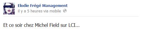 Messages d'Elodie Frégé Management sur Facebook - Page 23 910