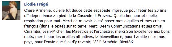 Messages d'Elodie Frégé sur Facebook (de Août 2013 à Avril 2014) Arma10