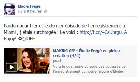 Messages d'Elodie Frégé sur Facebook (de Août 2013 à Avril 2014) El10