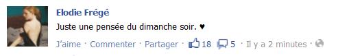 Messages d'Elodie Frégé sur Facebook (de Août 2013 à Avril 2014) Elo1210