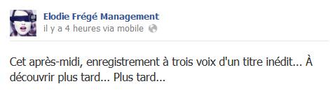Messages d'Elodie Frégé Management sur Facebook - Page 23 Elo31