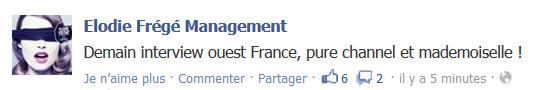 Messages d'Elodie Frégé Management sur Facebook - Page 23 Elo32