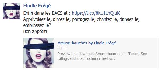 Messages d'Elodie Frégé sur Facebook (de Août 2013 à Avril 2014) Elodie11