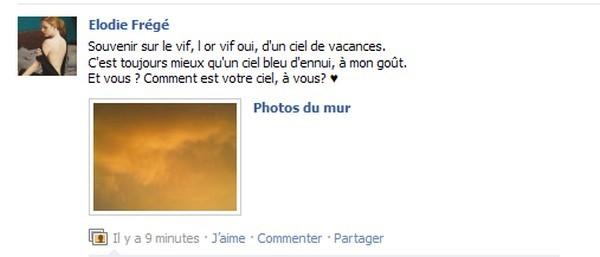 Messages d'Elodie Frégé sur Facebook (de Août 2013 à Avril 2014) Elodie12