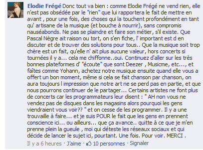Messages d'Elodie Frégé sur Facebook (de Août 2013 à Avril 2014) Elof10