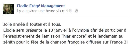 Messages d'Elodie Frégé Management sur Facebook - Page 23 Eloo15
