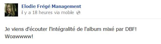 Messages d'Elodie Frégé Management sur Facebook - Page 23 Eloo16