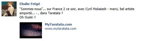 Messages d'Elodie Frégé sur Facebook (de Août 2013 à Avril 2014) Sansre10