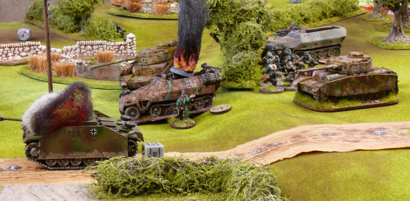 Contre-attaque Allemande de Carentan, Normandie 13 juin 1944. P1230016