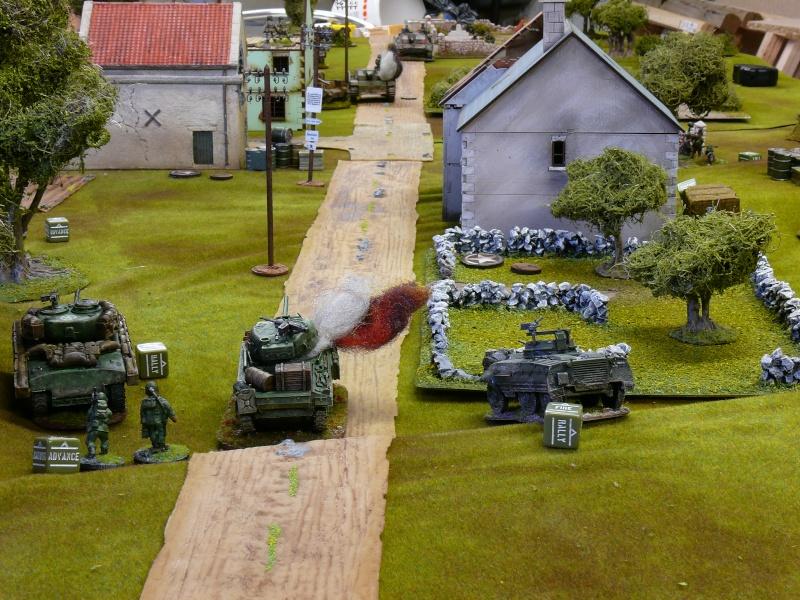 Contre-attaque Allemande de Carentan, Normandie 13 juin 1944. P1230018