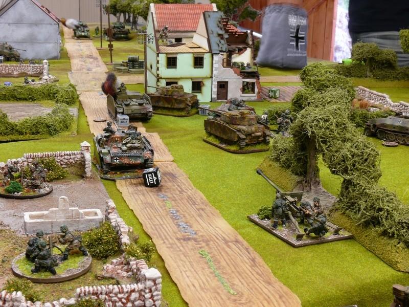 Contre-attaque Allemande de Carentan, Normandie 13 juin 1944. P1230019