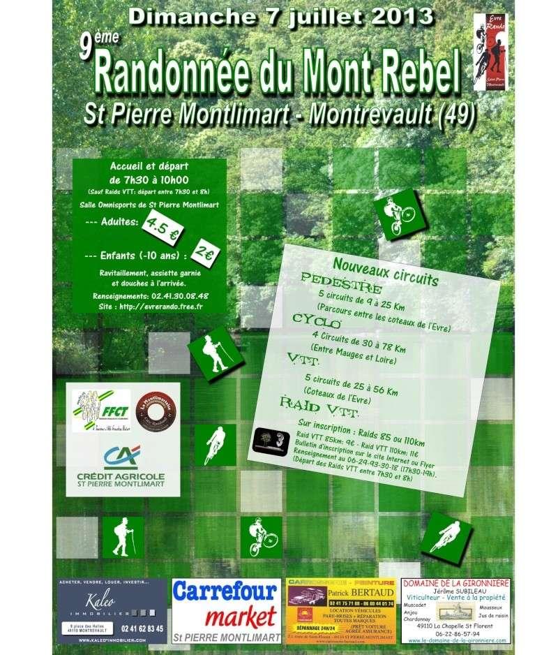 Mont Rebel 2013 (7 juillet 2013): Chronique d'une rando... Affich10