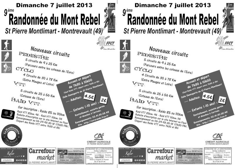 Mont Rebel 2013 (7 juillet 2013): Chronique d'une rando... Flyer_10