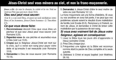 Bande dessinée chrétienne sur la franc-maçonnerie Jesus_10