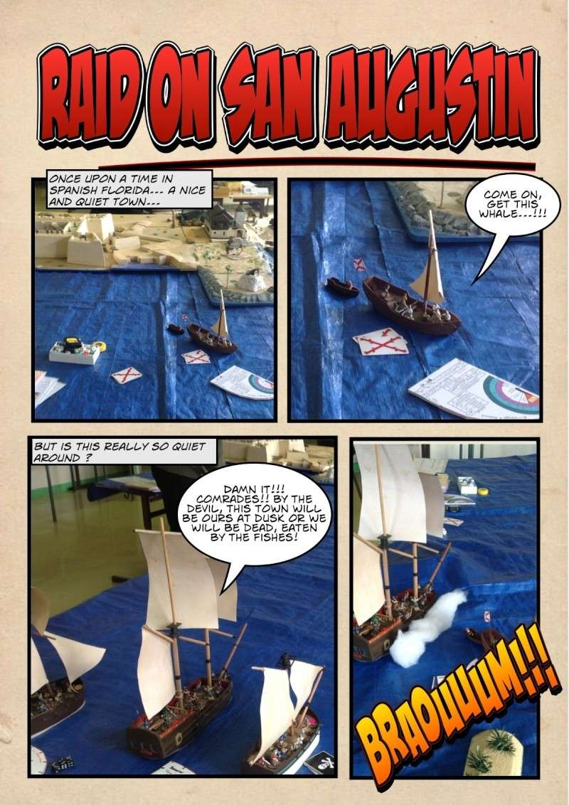 """RAID ON SAN AUGUSTIN"" English version 2013-025"