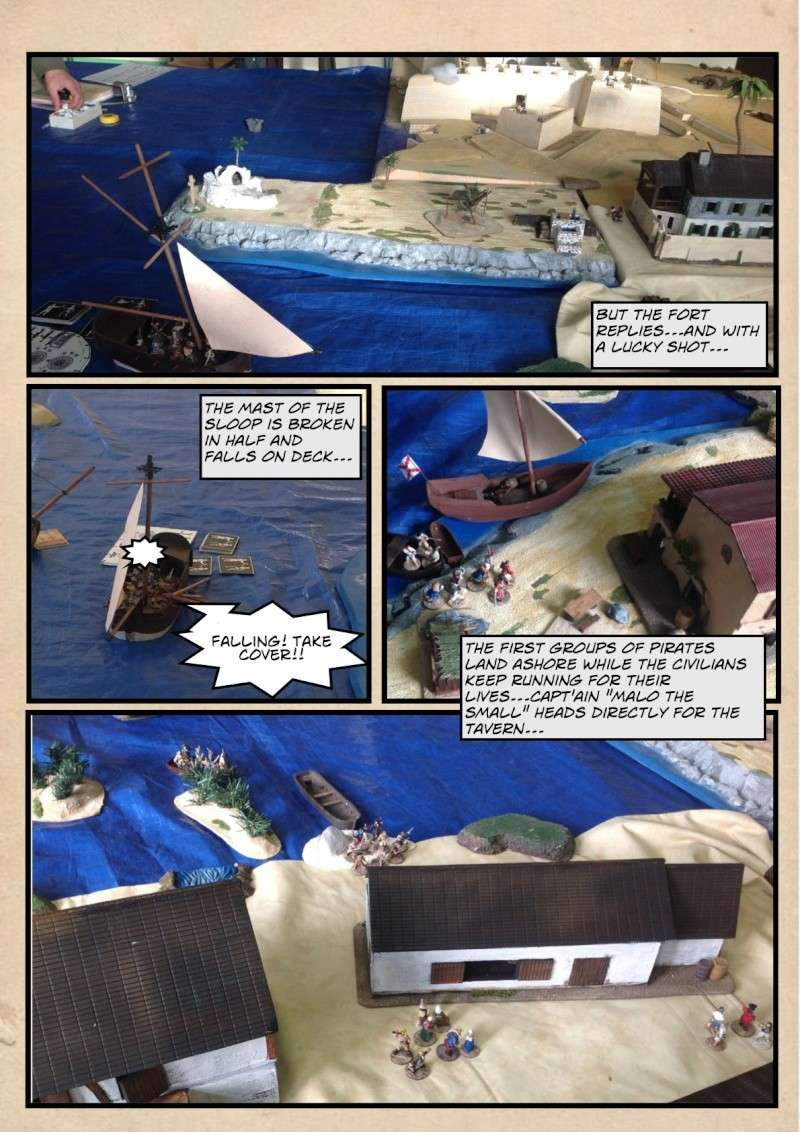 """RAID ON SAN AUGUSTIN"" English version 2013-029"