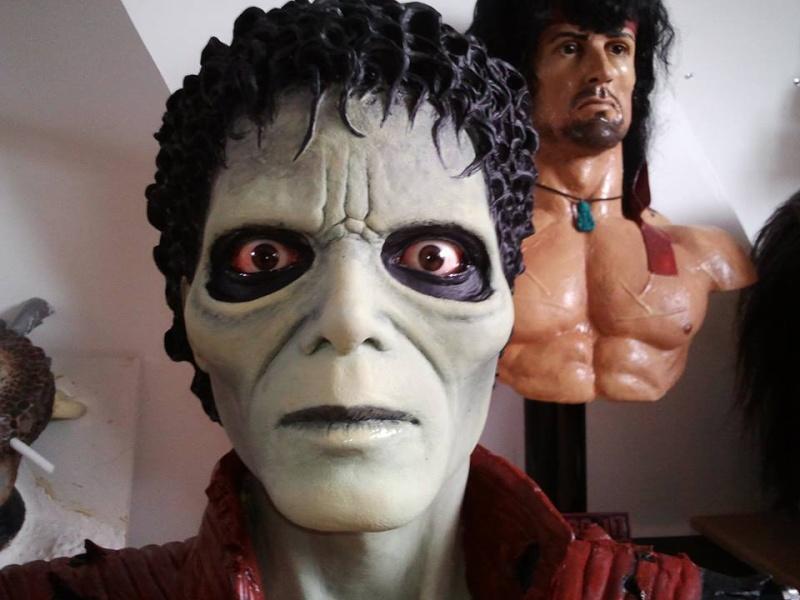 mon buste michael jackson mode zombi (thriller) 11502910