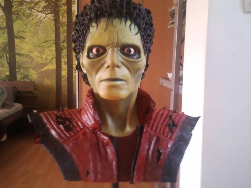 mon buste michael jackson mode zombi (thriller) 12300411