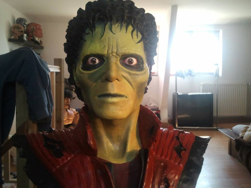 mon buste michael jackson mode zombi (thriller) 12336210
