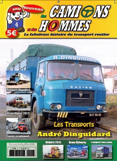 Le numéro 4 du magazine Des Camions et des Hommes Couver11
