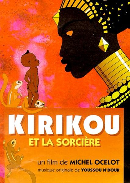 KIRIKOU ET LA SORCIERE - 1998 - Affich11