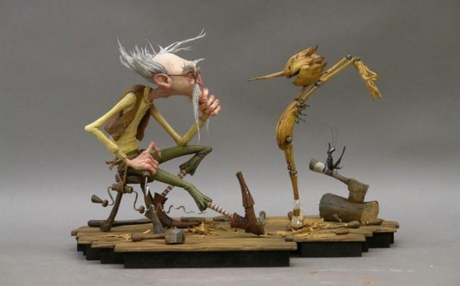 PINOCCHIO - Guillermo del Toro/Jim Henson Company - en cours Pinocc10