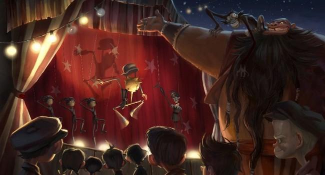 PINOCCHIO - Guillermo del Toro/Jim Henson Company - en cours Pinocc11