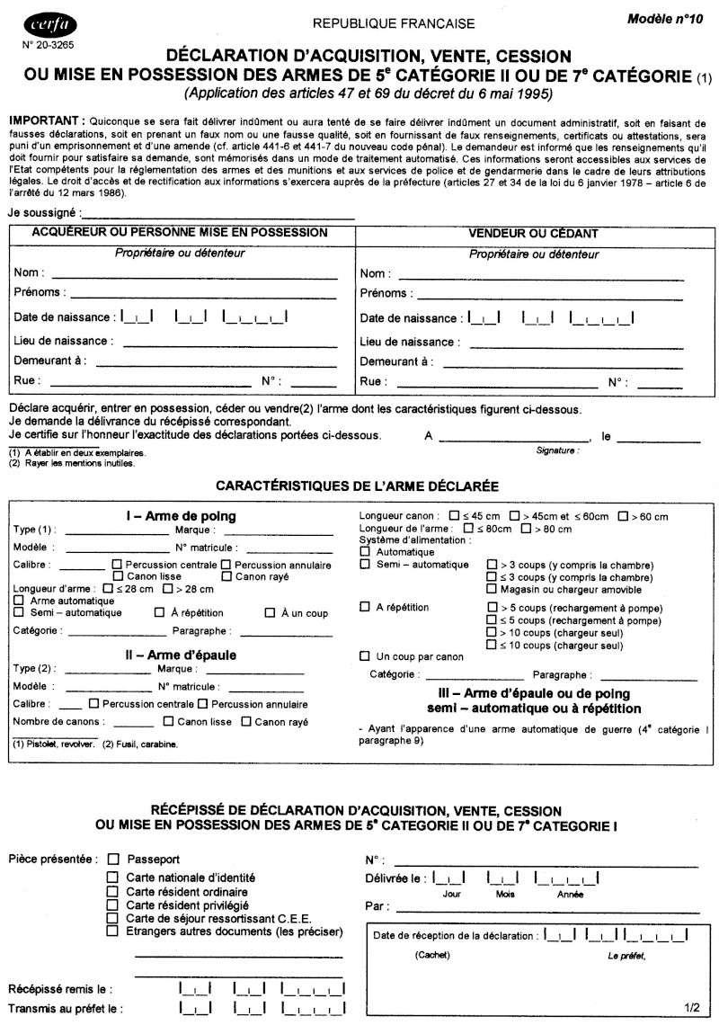 Paperrasse déclaration D-clar11