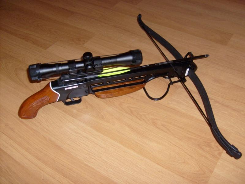 240 diana 4x32, beretta 92fs laser, p88 compétition, pistolet arbalette 80lbs S6300510