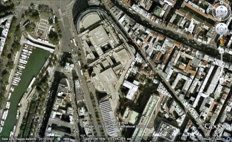 Les ouvrages disparus que Google Earth ne vous montrera plus... Bastil11