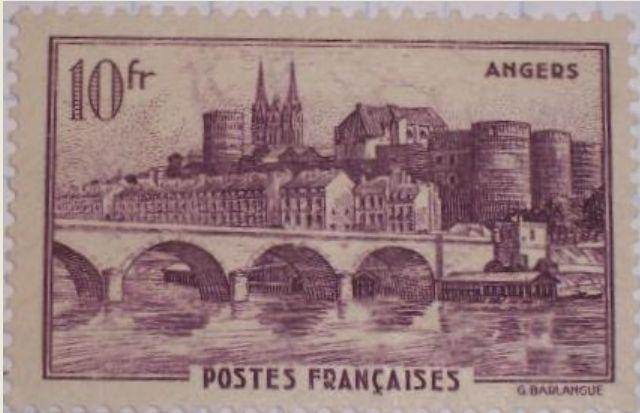 La France par ses timbres sous Google Earth - Page 3 Timbre19