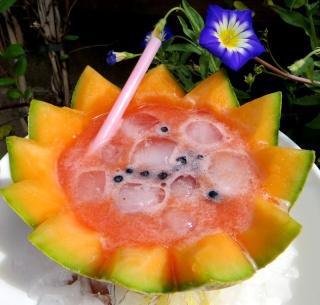 Soupe de melon glacé Img_2818