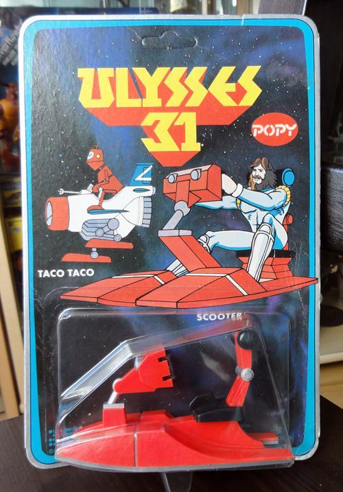 Ulysse 31 / Ulysses 31 (Popy bandaï et multi) 1981 Ulysse11