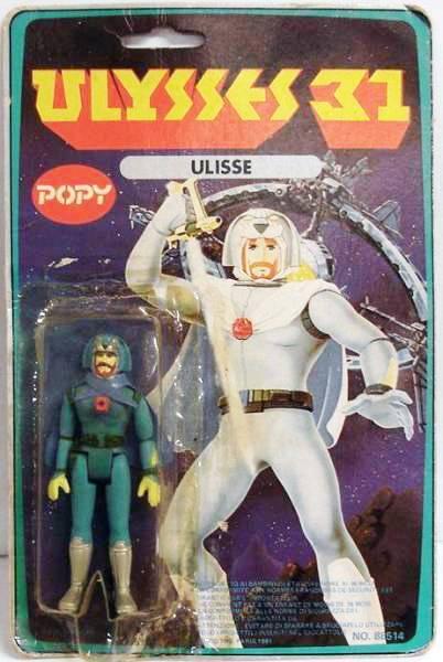Ulysse 31 / Ulysses 31 (Popy bandaï et multi) 1981 Ulysse12