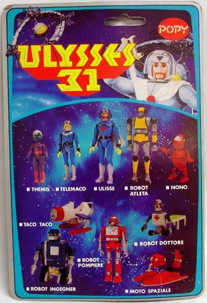 Ulysse 31 / Ulysses 31 (Popy bandaï et multi) 1981 Ulysse14