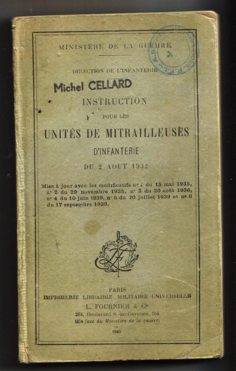 Mon Grand-Père : Joannès CELLARD Instru10