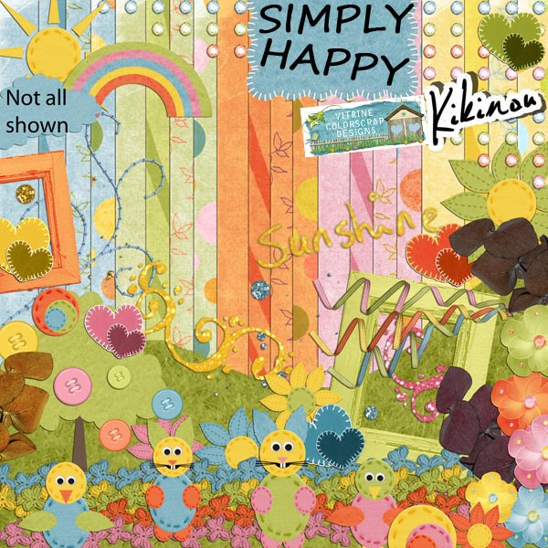 simply happy Vitrin12