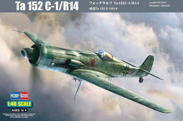 Plan du Ta-152C 14615010