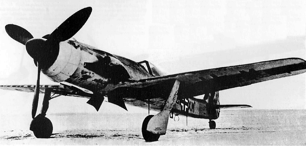 Plan du Ta-152C Focke-10