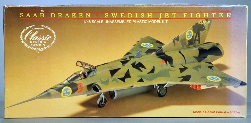 "SAAB J-35? ""Draken"" [1/48 - Lindberg] Img_7833"
