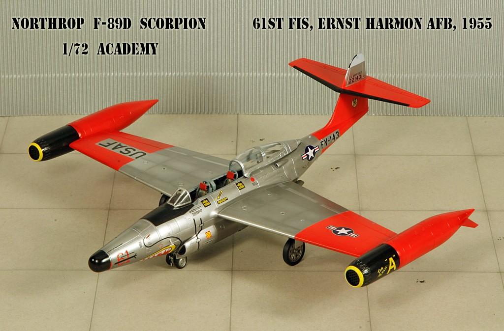 "Northrop F-89D ""Scorpion"" (1:72 - Academy) Img_7925"