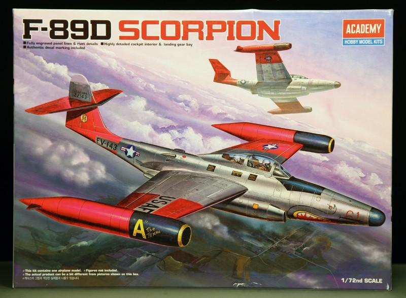 "Northrop F-89D ""Scorpion"" (1:72 - Academy) Northr10"