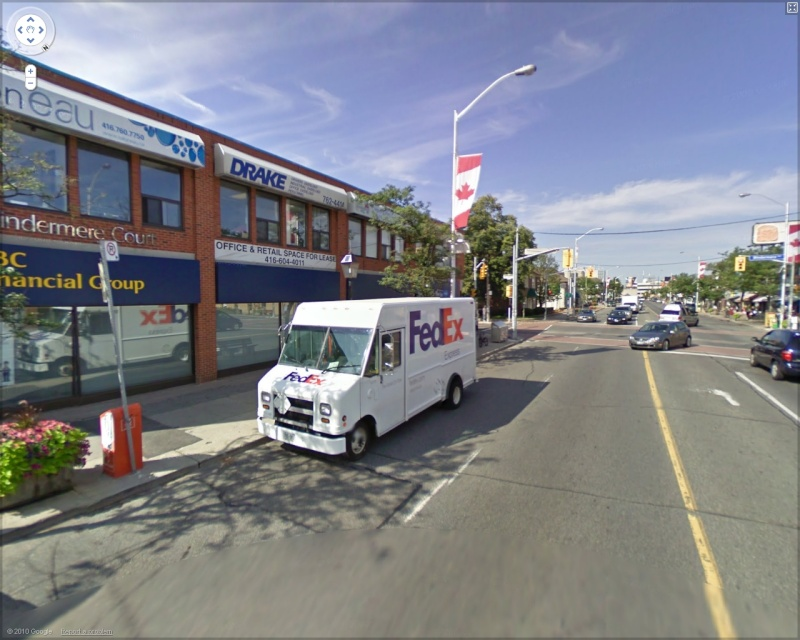 Concours FEDEX- STREET VIEW - Page 5 Fedex210