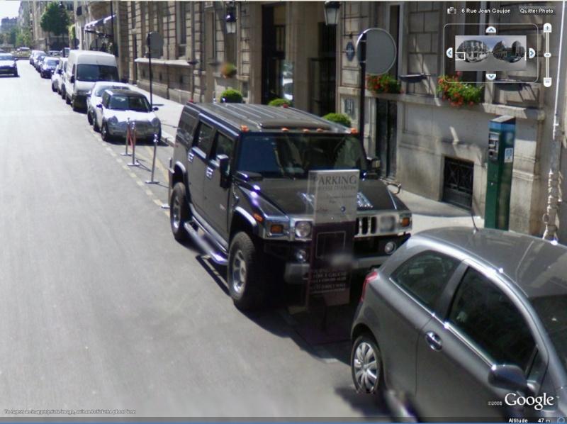 STREET VIEW : belles voitures (France) - Page 2 Hummer10