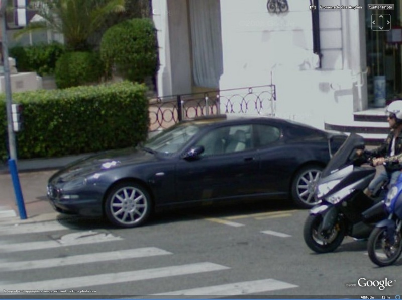 STREET VIEW : belles voitures (France) - Page 2 Masera11