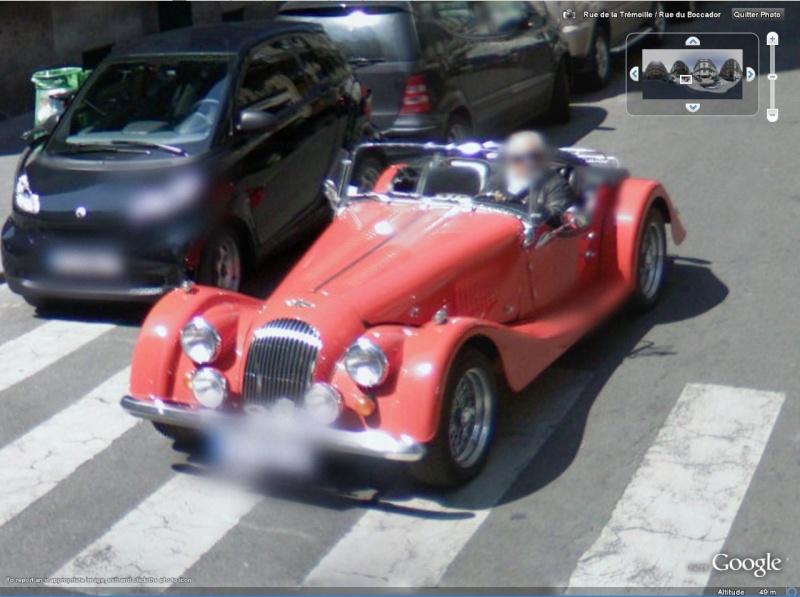 STREET VIEW : belles voitures (France) Morgan10