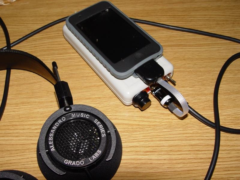 Amplificador de auscultadores Cmoy Dsc03515